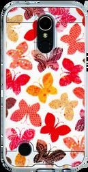 LG K20 PLUS MM Slim Dura Metal Rainbow Butterfly
