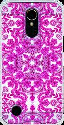LG K20 PLUS MM Slim Dura Metal Tribal Pink