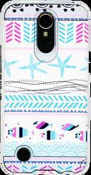 LG K20 PLUS MM Slim Dura Metal Teal Fish