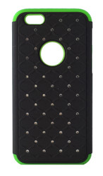 LG F60 Tribute Dual Bling Case Green