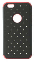 SOLD OUT LG F60 Tribute Dual Bling Case Red