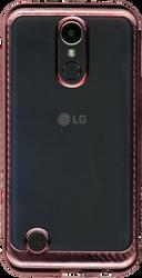 LG K20 PLUS MM Electroplated Carbon Fiber Candy Case Rose Gold
