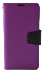 LG G4 MM Executive Wallet Purple