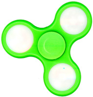 Fidget Spinner LED lighting Green