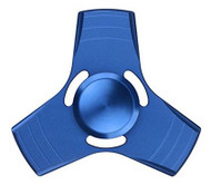 Fidget Spinner Three Wing Metal Blue