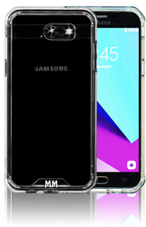 Samsung Galaxy J3 Emerge MM Opal Crystal Armor Clear(Tempered Glass Included)