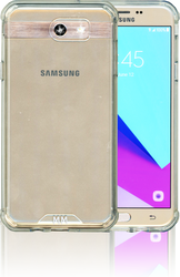Samsung Galaxy J7 (2017) MM Opal Crystal Armor Clear Tempered Glass Included)