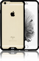 Iphone 6S PLUS  MM Opal Crystal Armor Black(Tempered Glass Included)