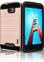 Coolpad Defiant MM Slim Dura Metal Finish Rose Gold