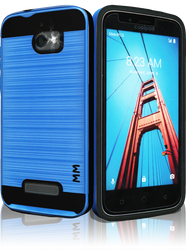Coolpad Defiant MM Slim Dura Metal Finish Blue