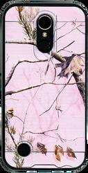 LG K20 PLUS MM Slim Dura Metal Finish Pink Camo&Black
