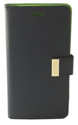 Samsung Note 4 MM Travel Light Wallet Blue & Green