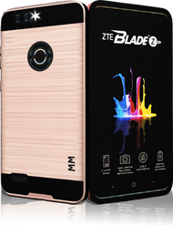 ZTE Blade MM Slim Dura Metal Finish Rose  Gold