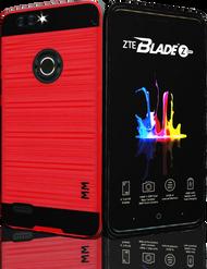 ZTE Blade MM Slim Dura Metal Finish Red