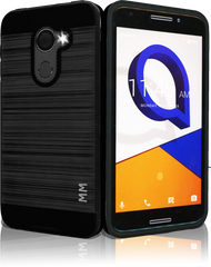Alcatel A30 FIerce  MM Slim Dura Metal Finish Black