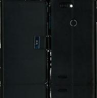 ZTE Blade MM Premium Folio Wallet Black