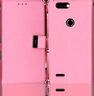 ZTE Blade MM Premium Folio Wallet Hot Pink