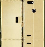 ZTE Blade MM Premium Folio Wallet Gold