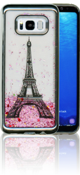 Samsung S8 PLUS Electroplated(Silver) Pink(Tower)