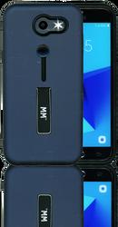 Samsung Galaxy J3 prime/Emerge MM Slim Kickstand Blue