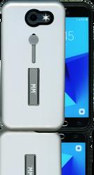 Samsung Galaxy J3 Prime/EmergeMM Slim Kickstand Silver