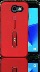 Samsung J3 Prime/Emerge MM Slim Kickstand Red
