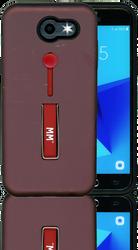 Samsung J3 Prime/Emerge MM Slim Kickstand Wine