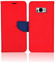 Samsung Galaxy S8  Professional Wallet Red