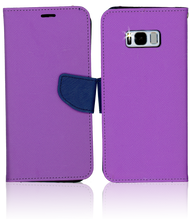 Samsung Galaxy S8  Professional Wallet Purple