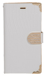 Samsung Note 4 Deluxe Wallet White