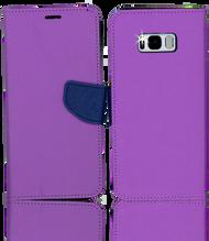 Samsung Galaxy S8 PLUS  Professional Wallet Purple