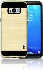 Samsung Galaxy S8 PLUS MM Slim Dura Metal Finish Gold