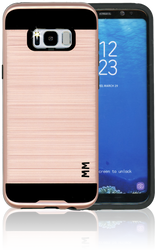 Samsung Galaxy S8 PLUS MM Slim Dura Metal Finish Rose Gold