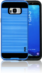 Samsung Galaxy S8 PLUS MM Slim Dura Metal Finish Dark Blue