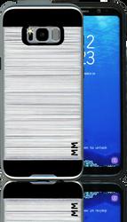 Samsung Galaxy S8 PLUS MM Slim Dura Metal Finish Silver