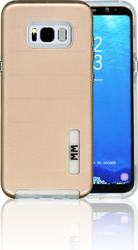 Samsung Galaxy S8 PLUS MM Opal Slim Case Rose Gold(Curved Tempered Glass Included)