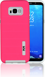 Samsung Galaxy S8 PLUS MM Opal Slim Case Pink(Curved Tempered Glass Included)
