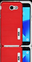 Samsung J3 Prime MM Opal Slim Case Red