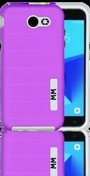 Samsung J3 Prime MM Opal Slim Case Purple