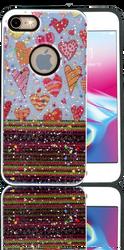 Iphone 7/8 MM 3D Chevron Heart