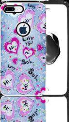 Iphone 7 PLUS/8 PLUS MM 3D Love