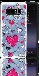 Samsung Note 8 MM 3D Heart