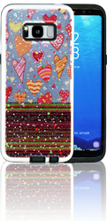 Samsung Galaxy S8 MM 3D Chevron Heart