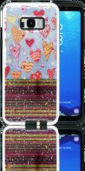 Samsung Galaxy S8 PLUS MM 3D Chevron Heart