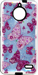 Motorola E4 MM 3D Butterfly