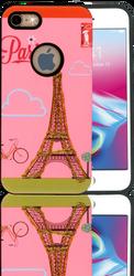 Iphone 7/8  MM 3D Glitter Paris