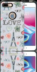 Iphone 7 PLUS/8 PLUS  MM 3D Paris Hearts