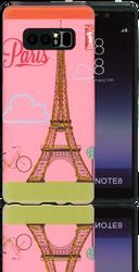 Samsung Galaxy Note 8 MM 3D Glitter Paris