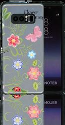 Samsung Galaxy Note 8 MM 3D Flower Butterfly