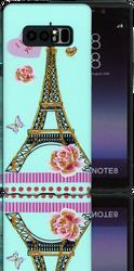 Samsung Galaxy Note 8 MM 3D Paris Love